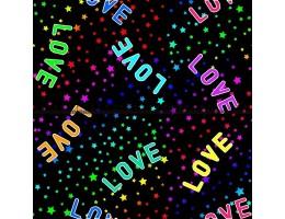 Лонета десен с love