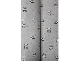 Ранфорс на сиви панди