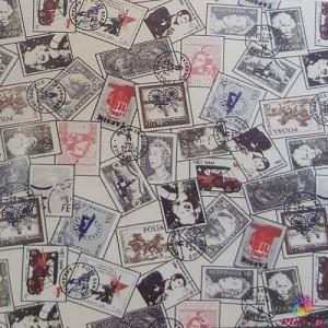 Хидрофобиран плат с десен на марки произведено в Турция