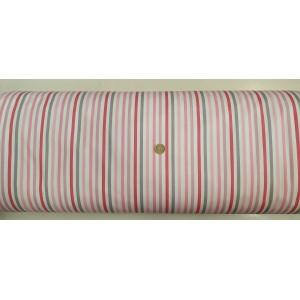 Ранфорс бяла основа със средно голямо райе цвят 1 платове Турция