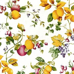 Лонета десен с грозде и лимони от