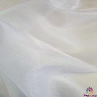 Японска органза цвят бяло
