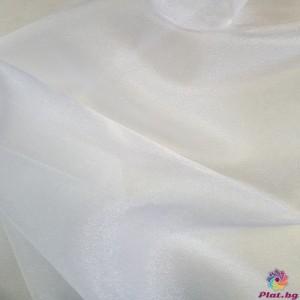 Японска органза цвят бяло от Япония