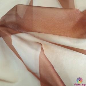 Японска органза цвят кафяво плат Япония
