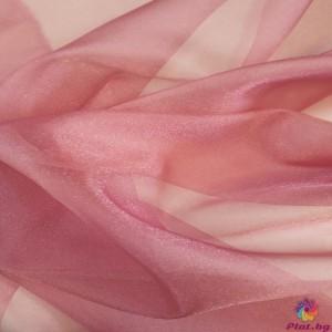 Японска органза цвят наситено пепел от рози платове Япония