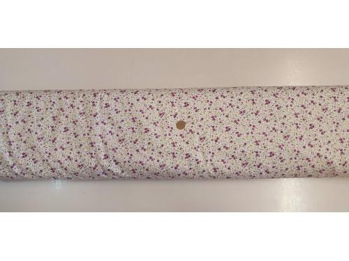Памучен плат с десен на цветя 10 произведено в Турция