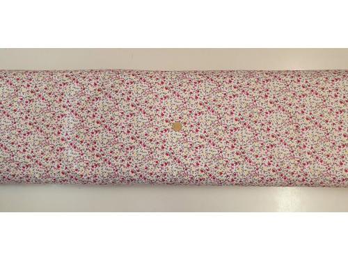 Памучен плат с десен на цветя 11 от Турция