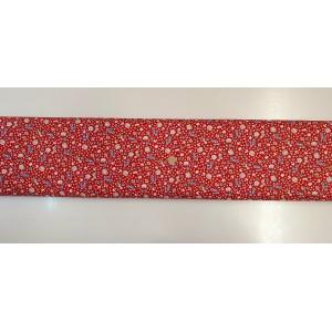 Памучен плат с десен на цветя 12 плат Турция