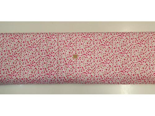 Памучен плат с десен на цветя 14 от Турция