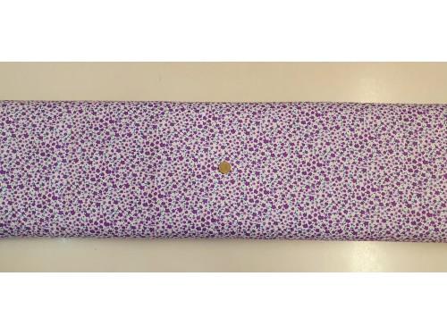 Памучен плат с десен на цветя 17 произведено в Турция