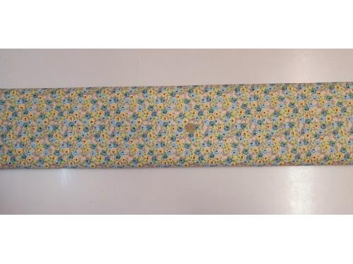 Памучен плат с десен на цветя 18 от Турция