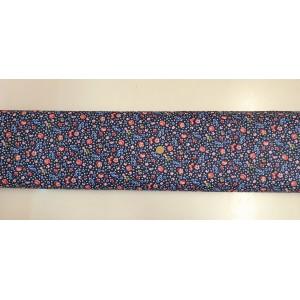 Памучен плат с десен на цветя 2 плат Турция