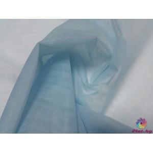 Тюл хаял бебешко синьо произведено в Турция