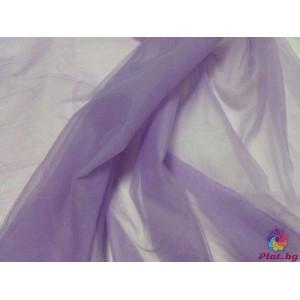 Тюл хаял бледо лилаво произведено в Турция
