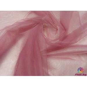 Тюл хаял наситено пепел от рози плат Турция
