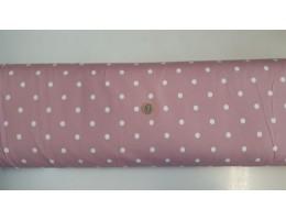 Хидрофобиран плат на розова основа с големи точки