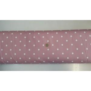 Хидрофобиран плат на розова основа с големи точки платове Турция