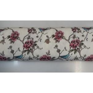 Хидрофобиран плат с птиче и цветя 2 произведено в Турция