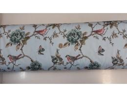 Хидрофобиран плат с птиче и цветя 3